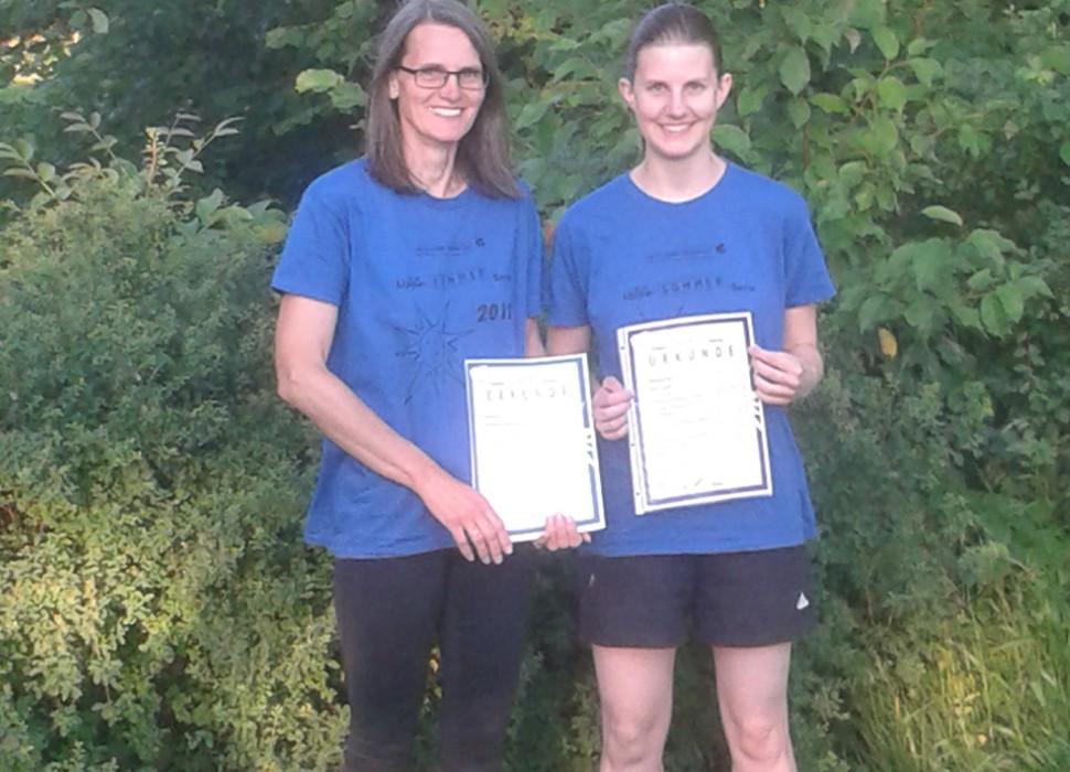 Sigrid Dreier-Richwin und Stefanie Richwin nahmen erfolgreich an der Lippe-Sommer-Serie teil