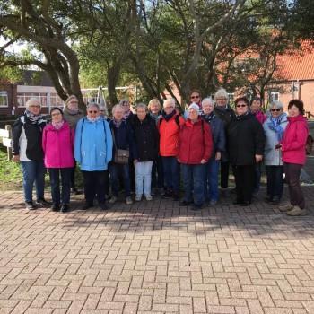 Stürmische Tage auf Norderney - Brokhauser Turnerinnen Ü50 unterwegs